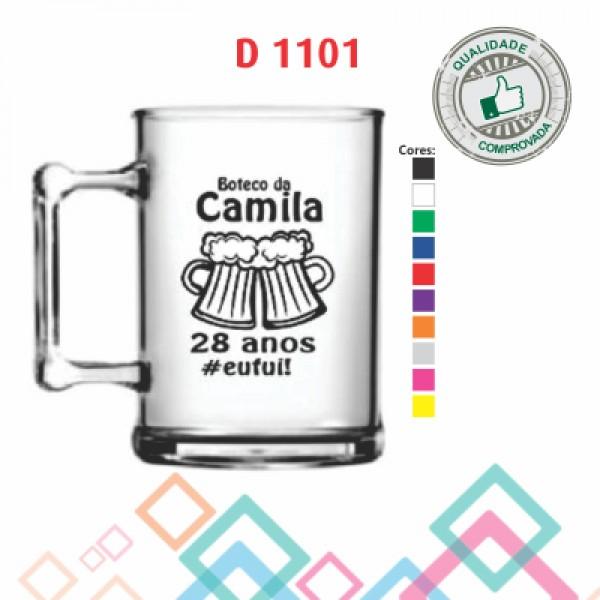 CANECA ACRÍLICA DE CHOPP D 1001