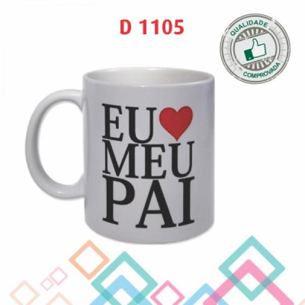CANECA DE PORCELANA D1105